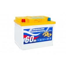 АКБ 6СТ. 66 ПАЗ 510A, п/п