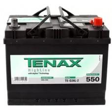 АКБ 6СТ. 68 TENAX HIGH 550А о/п TE-D26L-2 высок.