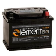 АКБ 6СТ. 60 Smart Element 500А, п/п