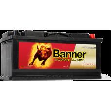 АКБ 6СТ. 105 Banner Running Bull AGM 605 01 950A старт-стоп о/п