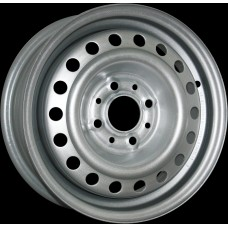 Диски 5.5J13 ET49 D56.6 Trebl GM / Daewoo (4x100) Silver, арт.52A49A