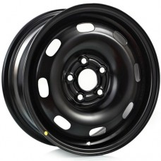 Диски 5.0J14 ET35 D57.1 Trebl VW / Skoda (5x100) Black, арт.5210